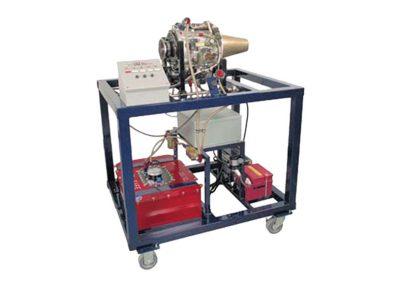 Sistema de Capacitación del Motor de Turbina Modelo AE-11