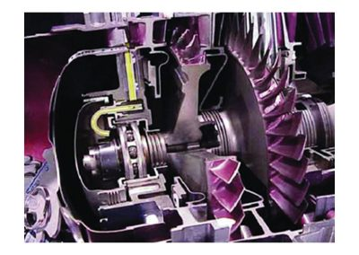 Corte de Motor Turboeje Modelo AE-04-250