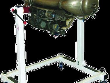 Motor Turboeje Allison 250 de Desmontaje Modelo AE-03-250