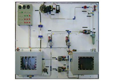Equipo para Capacitación en Sistema de Combustible del Motor de Turbina Modelo AS-11