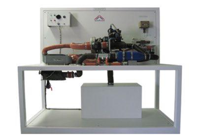 Equipo para Capacitación en Máquina de Ciclo de Aire Modelo AS-44