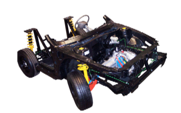 Sistema de Entrenamiento en Suspensión, Dirección y Frenos Modelo MEG-008