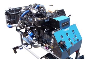 Sistema de Entrenamiento en Motor Diesel Modelo MEG-320