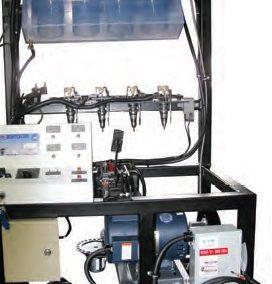 Sistema de Entrenamiento en Inyección de Combustible para Diesel Modelo MEG-550D