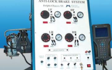 Sistema de Entrenamiento en Frenos ABS MEG-ABS4W