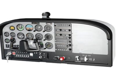 Panel de Cabina de Mando Simulada para Cessna 172 Modelo SIP-C172