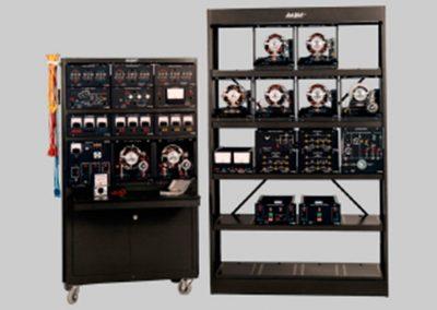 Sistema de Entrenamiento en Maquinas Eléctricas con Instrumentación Convencional