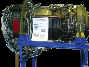 Motor Turborreactor J85 Modelo AE-05-J85 para Desmontaje