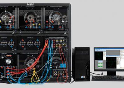 Sistema de Entrenamiento en Maquinas Eléctricas con Adquisición de Datos