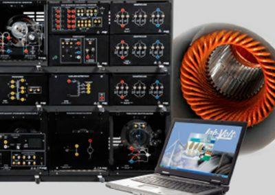 Sistema de Entrenamiento en Maquinas Eléctricas con Motores Sin Escobillas
