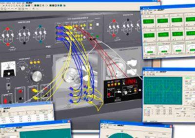 Sistema de Entrenamiento en Maquinas Eléctricas con Simulador de Entrenamiento Electromecánico