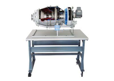 Corte de Motor Turbohélice PT6A Modelo AE-07-PT6A