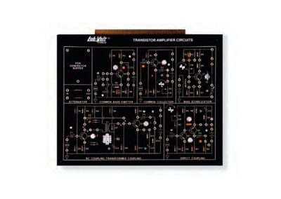 Modulo circuitos amplificadores con transitores