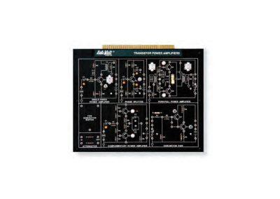Modulo amplificadores de potencia con transistores