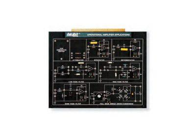 Modulo aplicaciones de amplificador operacional