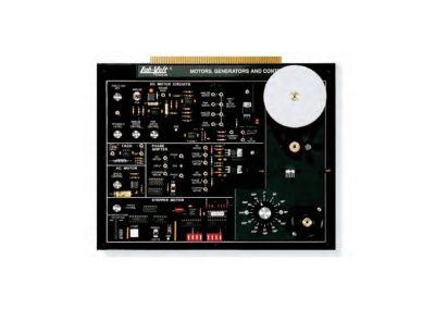 Módulo Motores, generadores y controles