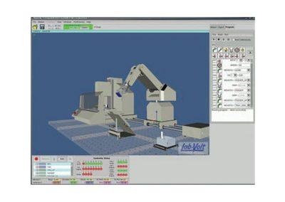 Simulador de entrenamiento en robótica