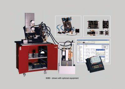 Sistema de entrenamiento en Hidráulica básica, Electro hidráulica, control por PLC, control por sensores y servo proporcional